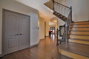 Main Staircase + Hardwood Flooring